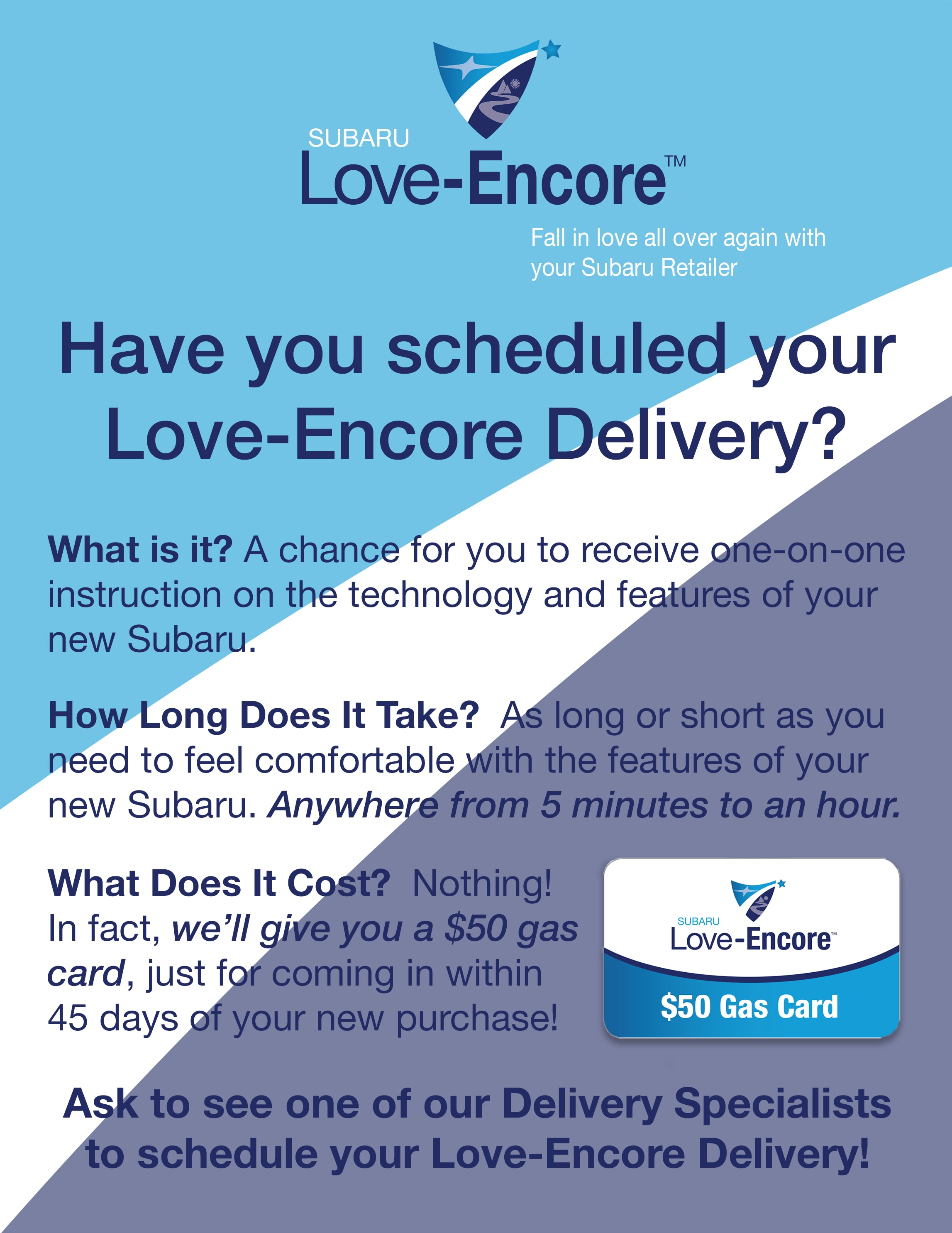 Schedule your subaru love encore delivery to learn about your new schedule your love encore delivery 1betcityfo Choice Image