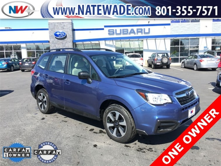 certified pre-owned 2017 Subaru Forester 2.5i SUV for sale in Salt Lake City UT