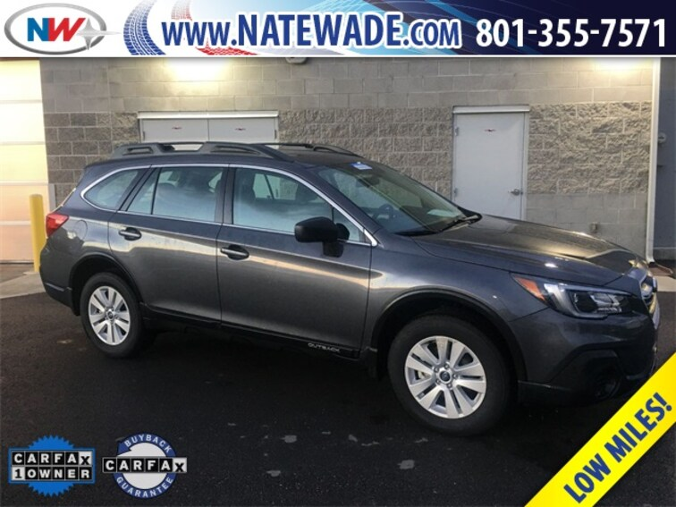 certified pre-owned 2018 Subaru Outback 2.5i SUV for sale in Salt Lake City UT