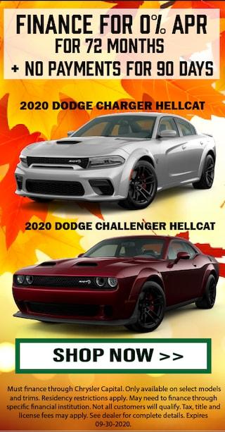 2020 Dodge Charger & 2020 Dodge Challenger