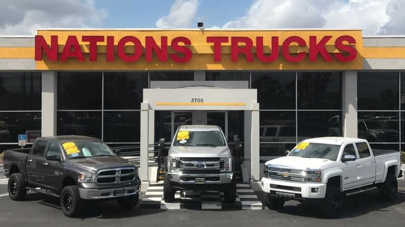Lifted Truck Inventory Sanford Fl Nations Trucks