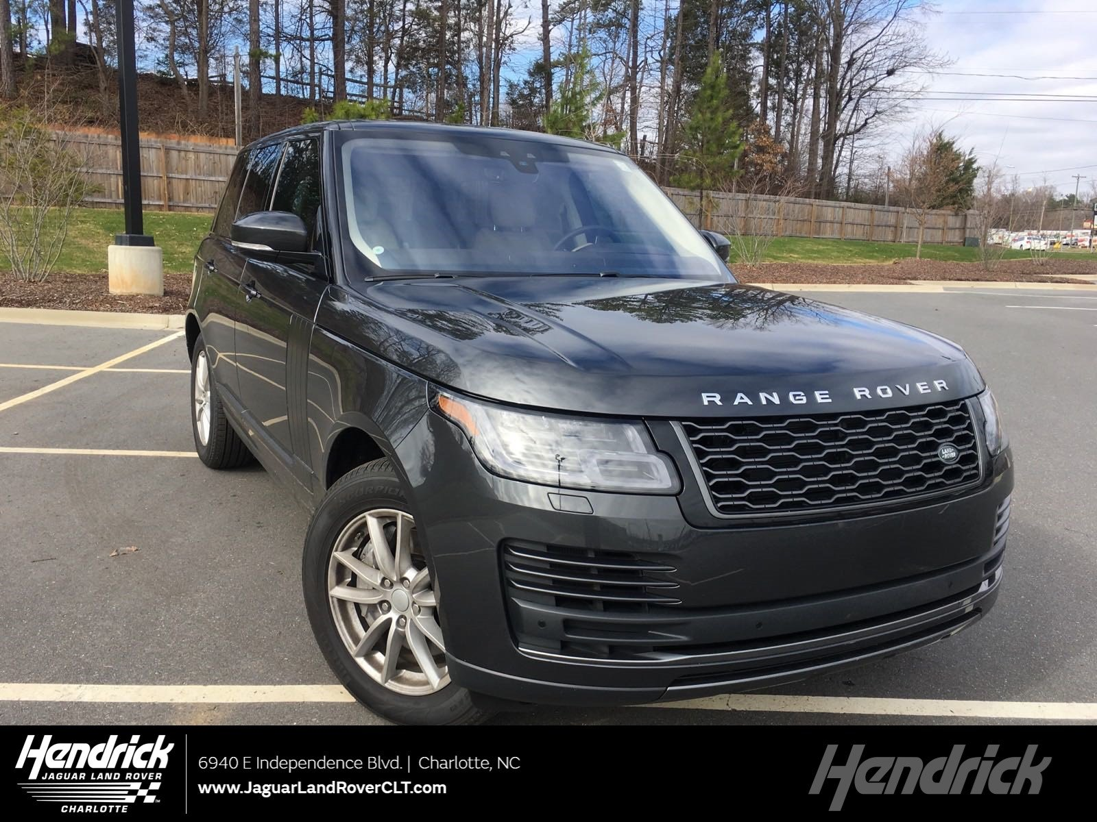 2019 Land Rover Range Rover V6 Supercharged SWB SUV