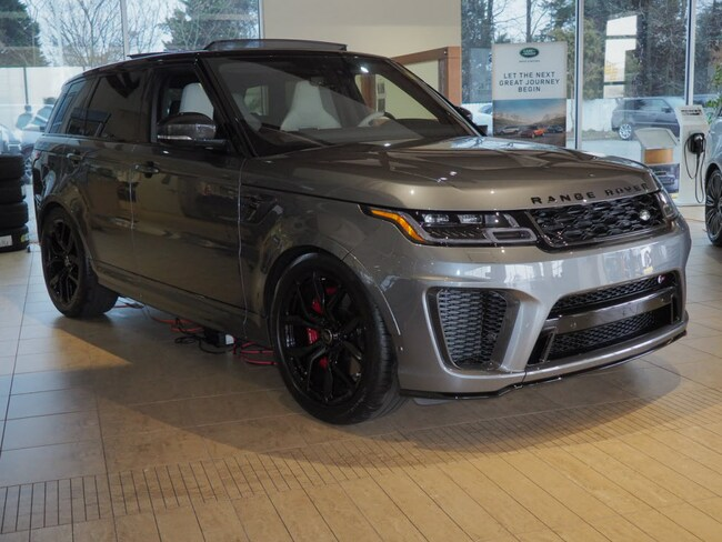 2019 Land Rover Range Rover Sport SVR SUV