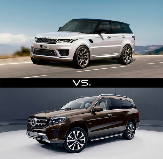 2018 Range Rover Sport vs  2018 Mercedes Benz GLS Class