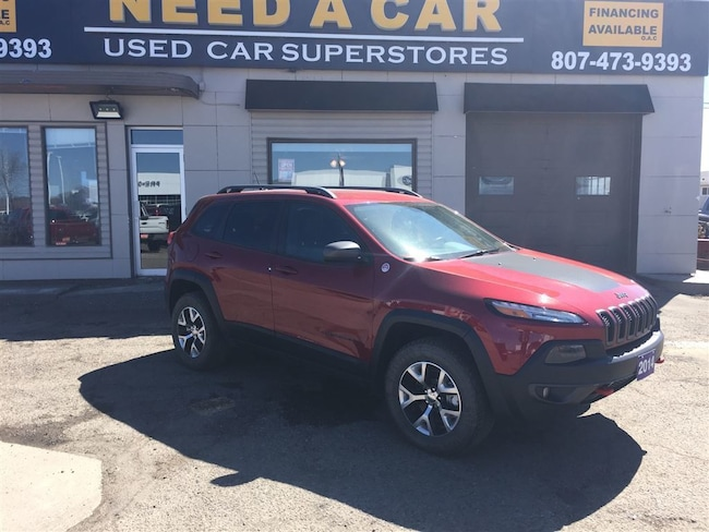 2014 Jeep Cherokee Trailhawk|LEATHER|NAV|CAMERA|HEATED SEATS|LOADED!! SUV