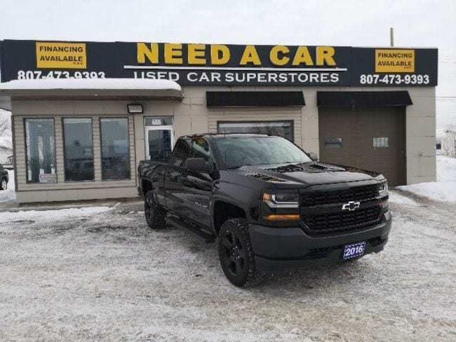 2016 Chevrolet Silverado 1500 5.3V8 4X4|BACK-UP CAMERA|BLUETOOTH|LIFT KIT|BEAST! Truck Double Cab