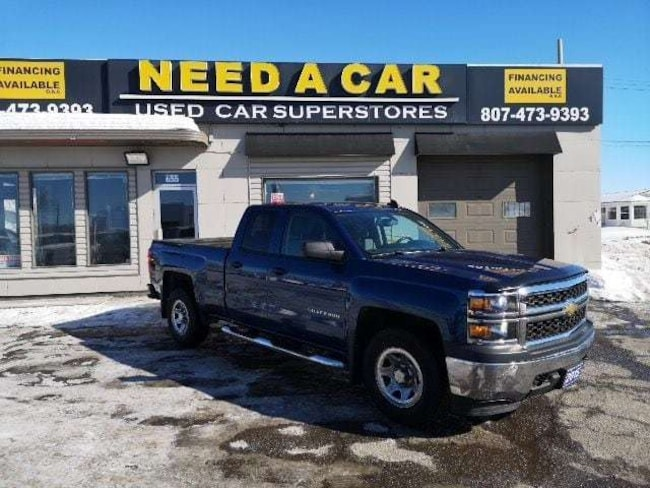 2015 Chevrolet Silverado 1500 4X4|5.3V8|BLUETOOTH|CD|AIR|HITCH|MORE!! Quad Cab
