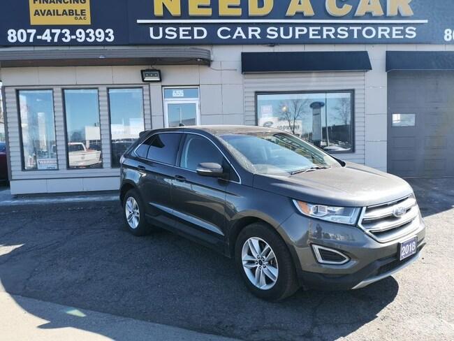2018 Ford Edge SEL AWD|BK-UP CAMERA|BLUETOOTH/USB|HEATED SEATS|AN SUV