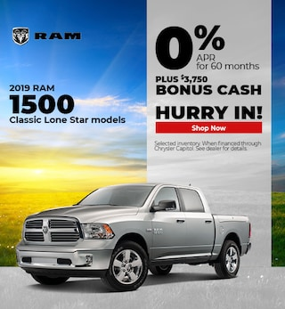 2019 RAM 1500 Lonestar APR- September