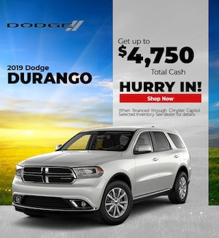 2019 Dodge Durango Cash- September
