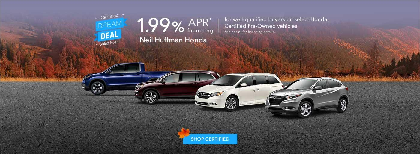 Neil Huffman Honda New & Used Car Dealer in Clarksville IN ...
