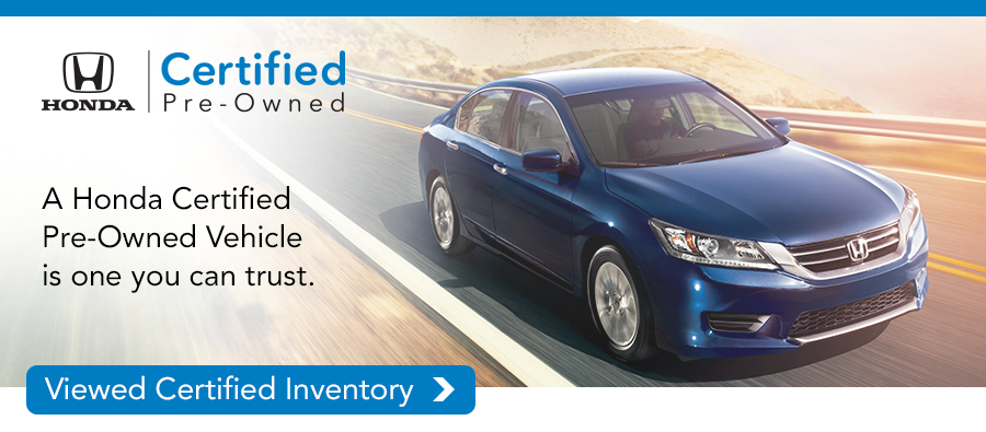 Why Buy A Certified Pre Owned Honda