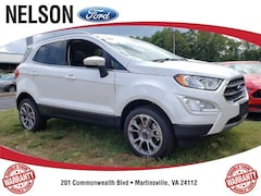 New 2019 Ford EcoSport Titanium SUV for Sale in Martinsville, VA