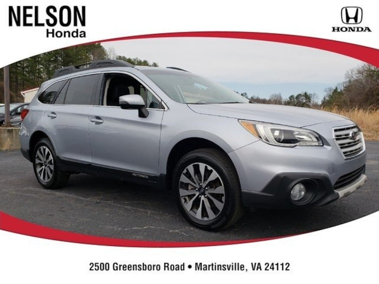 Used 2017 Subaru Outback 2.5i Limited with SUV 4S4BSAKC6H3381178 near Martinsville