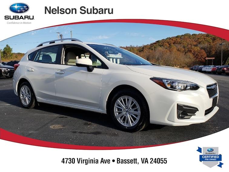 Used 2018 Subaru Impreza 2.0i Premium 5-door S2614 near Martinsville