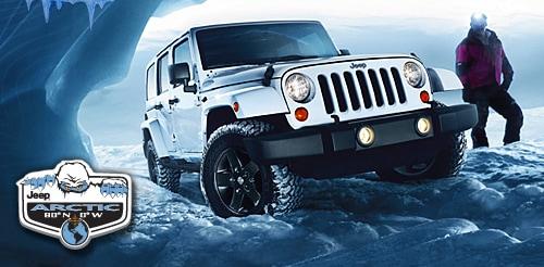 2012 jeep wrangler arctic edition passenger side three quarters 2.
