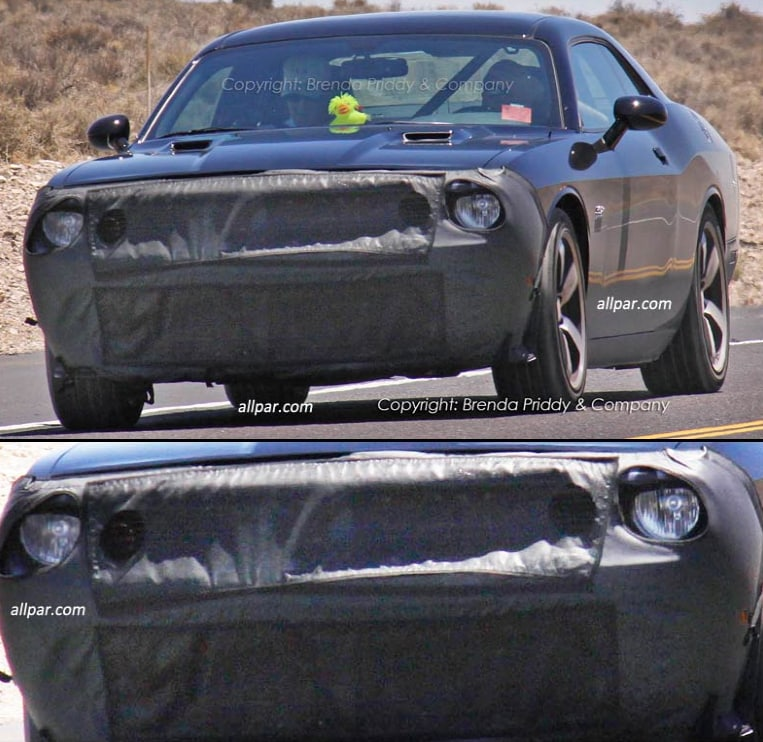 Nemer Chrysler Jeep Dodge Ram  2014 Dodge Challenger Spy Shots