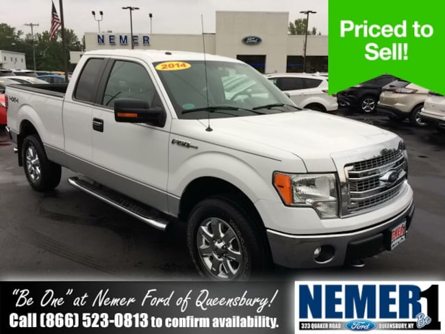 2014 Ford F-150 Supercab 4WD Truck SuperCab Styleside