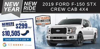 New Ford F-150 Specials for January 2020