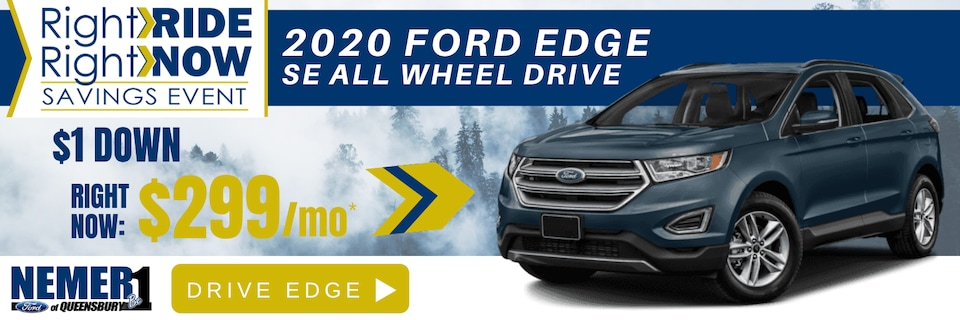 New Ford Edge February 2020