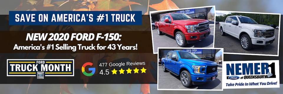 September Offer on New 2020 Ford F-150
