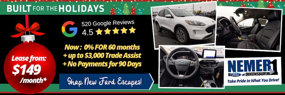 Ford Escape Specials