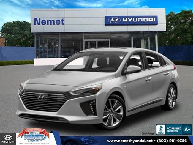 New 2019 Hyundai Ioniq Hybrid Limited Hatchback in Queens