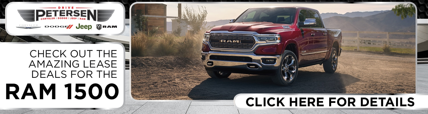 Ram 1500 Lease Deal at Petersen CDJR