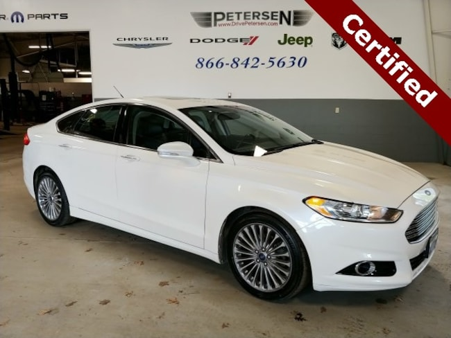 2013 Ford Fusion Titanium Sedan