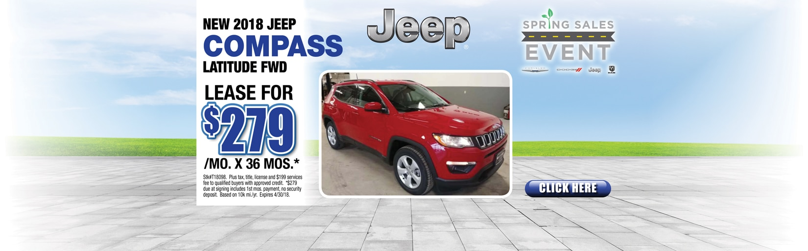 2018 Jeep Compass Latitude FWD in Waupaca, WI