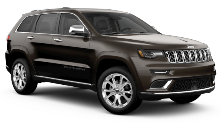 2020 Jeep Grand Cherokee Summit in Brown