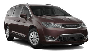 A Chrysler Pacifica Touring L on a transparent background
