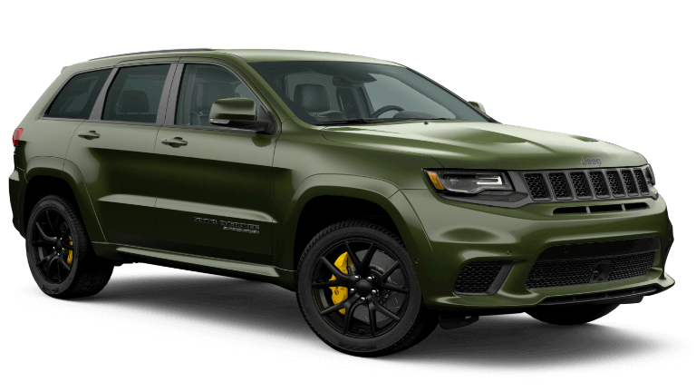 2020 Jeep Grand Cherokee Trackhawk in forest green