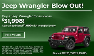Jeep Wrangler Blow Out