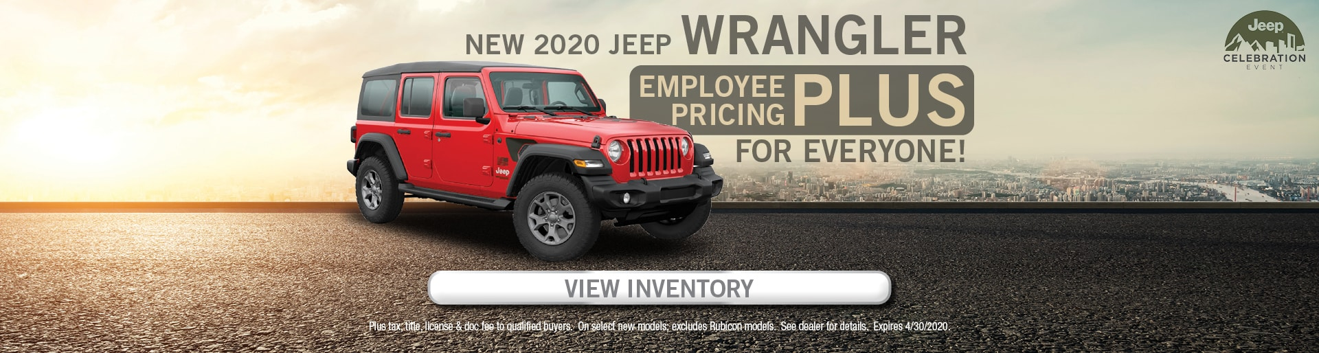 Wrangler purchase offer
