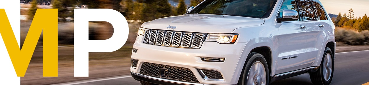 The Muscular performance of the 2017 Jeep Grand Cherokee