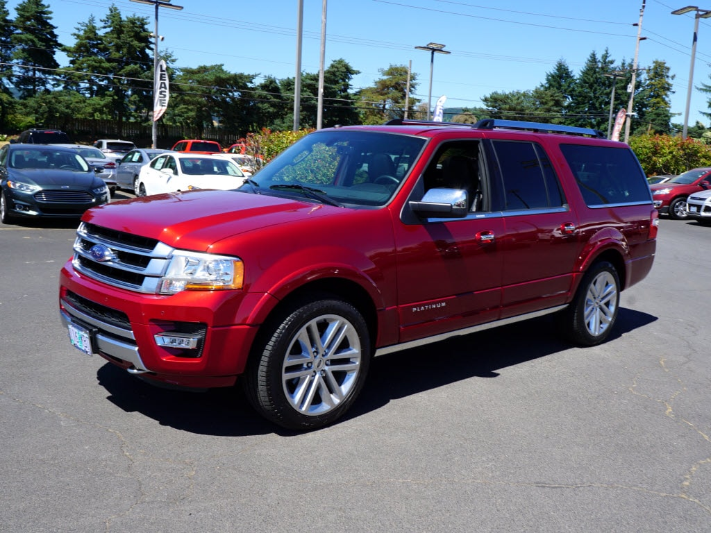 2017 Ford Expedition EL Platinum 4x4 Platinum  SUV