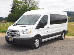 2018 Ford Transit Passenger 350 XLT 350 XLT  LWB Medium Roof Passenger Van w/Sliding P