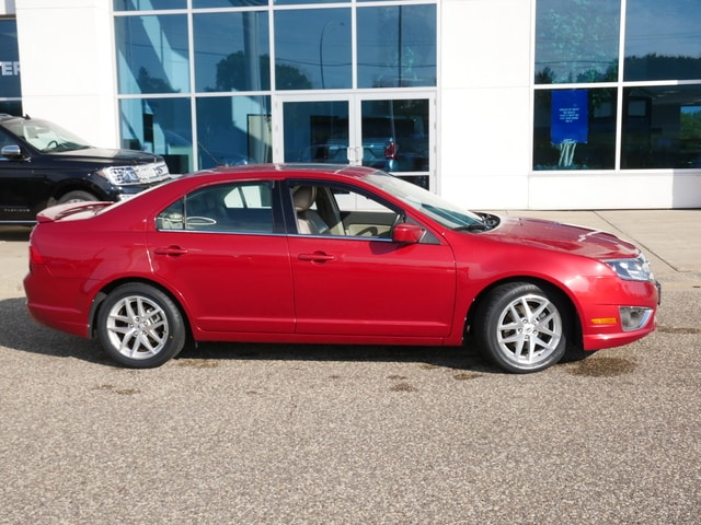 Used 2010 Ford Fusion SEL with VIN 3FAHP0JA7AR361299 for sale in New Brighton, Minnesota