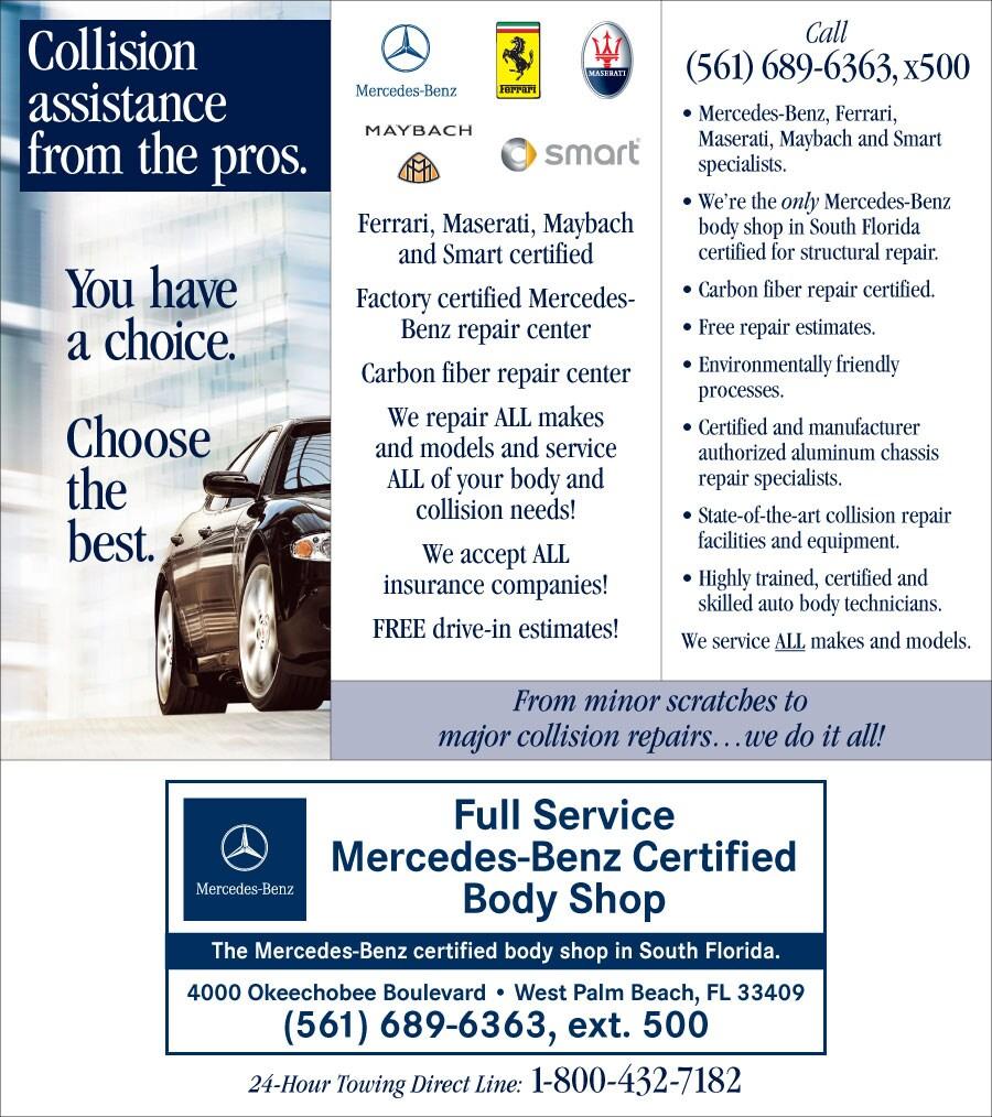 Florida Auto Body Shop Collision Repair Services In Fl