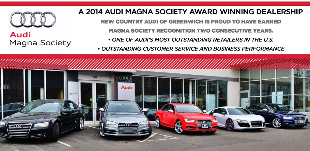 audi magna society accolades audi dealership in greenwich ct. Black Bedroom Furniture Sets. Home Design Ideas