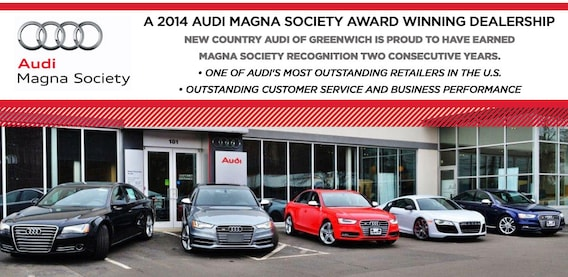 Audi Magna Society Accolades Audi Dealership In Greenwich CT - Audi greenwich