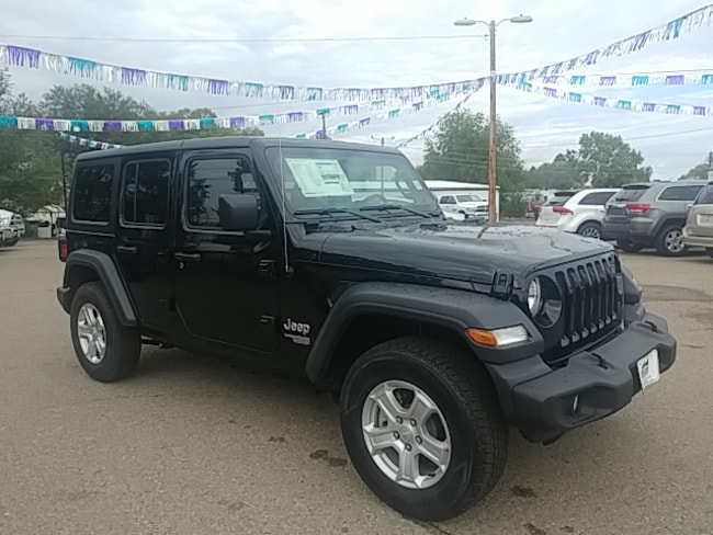 New 2018 Jeep Wrangler UNLIMITED SPORT S 4X4 Sport Utility in Cortez, CO