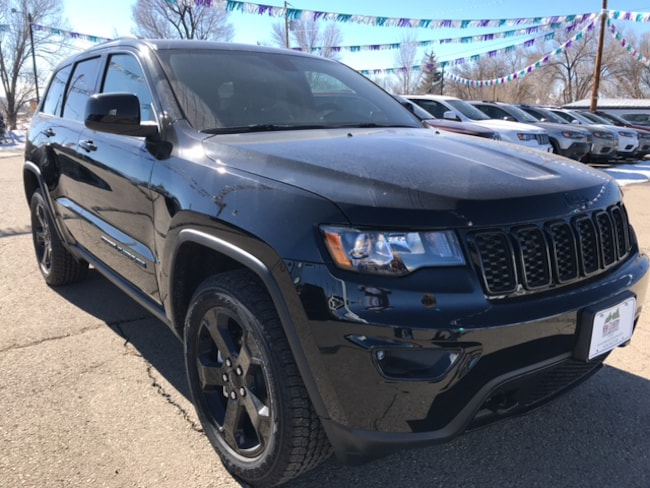 New 2019 Jeep Grand Cherokee UPLAND 4X4 Sport Utility in Cortez, CO