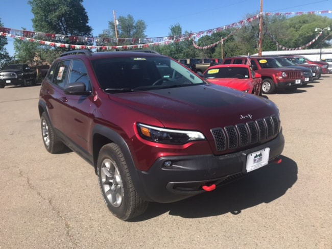 New 2019 Jeep Cherokee TRAILHAWK ELITE 4X4 Sport Utility in Cortez, CO