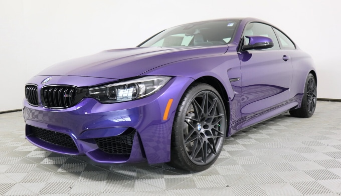 "2020 BMW M4 Coupe ""Heritage Edition"" Manual exterior"