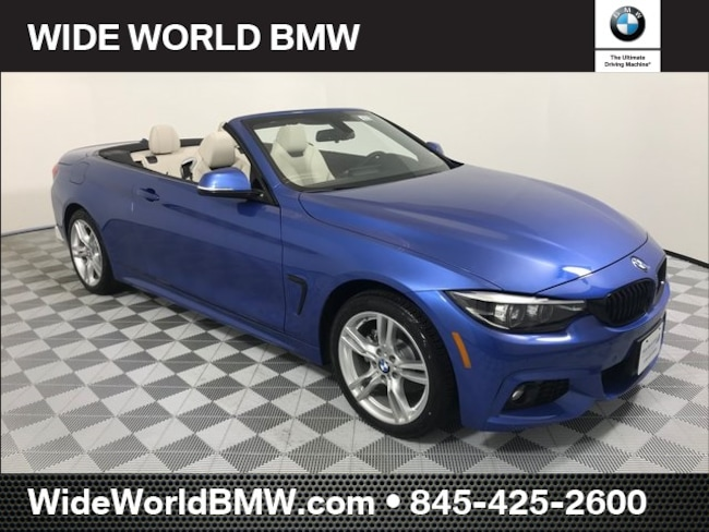2019 BMW 4 Series 430i Xdrive 430i Xdrive Convertible
