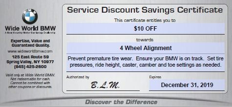 BMW Service Specials in Spring Valley | NY BMW Dealership