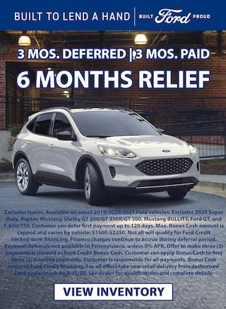3 Months Deferred | 3 Months Paid | 6 Months Relief