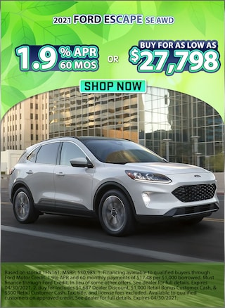 1.9% APR for 60 Months or Buy for as low as $27,798!